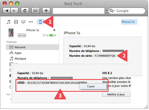 Blog - How to find UDID of a blocked iCloud iPhone / iPad ?